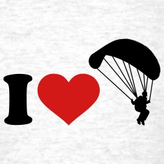 I love Parachute jumping T-Shirts