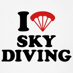 I love Skydiving T-Shirts