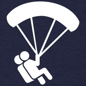 Parachute jumping T-Shirts - Men's T-Shirt