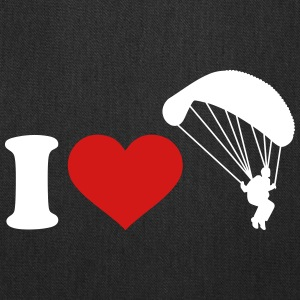 I love Parachute jumping Bags & backpacks - Tote Bag