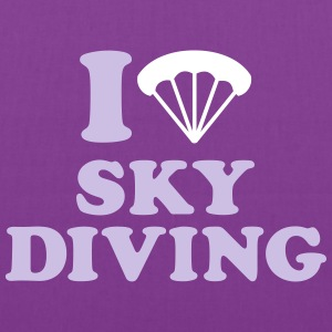 I love Skydiving Bags & backpacks - Tote Bag