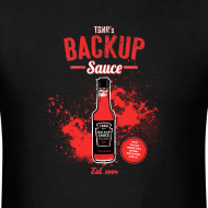 Design ~ Backup Sauce (Gildan) [M]