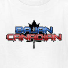 Bajan Canadian Kids' Shirts