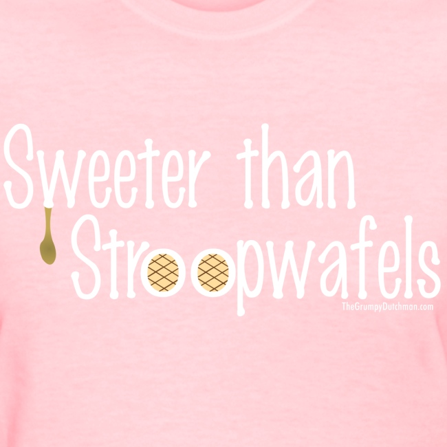 Stroopwafels (with white lettering for darker shirts)