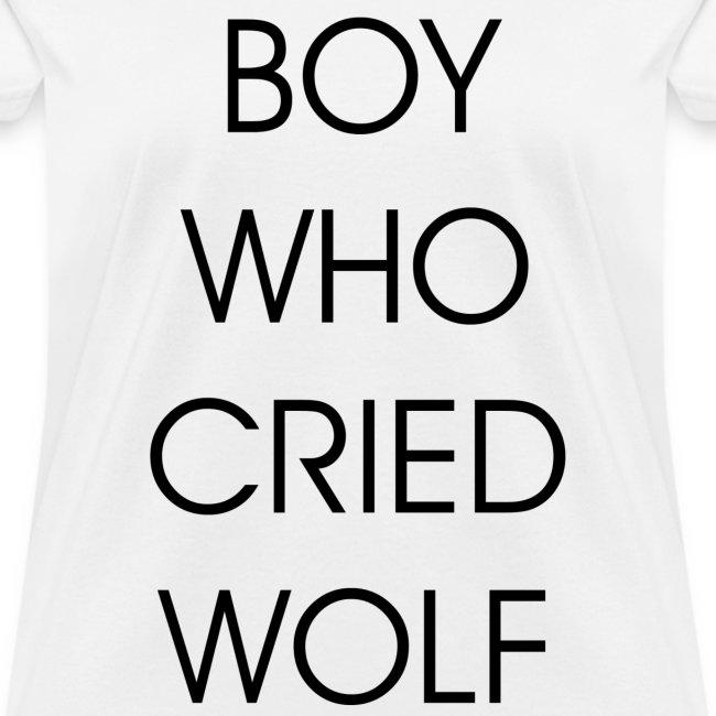 EXO BOY WHO CRIED WOLF