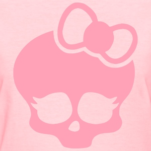 Bow Skull - Women's T-Shirt