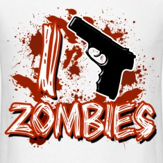 I Kill Zombies T-Shirts
