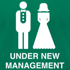 Bride/Groom Under New Management T-Shirts