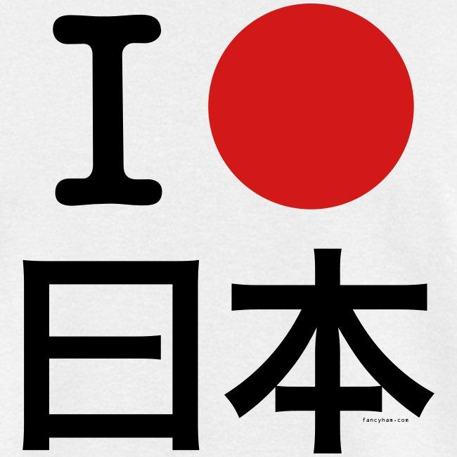 I [circle] Japan