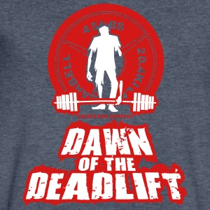 Dawn of the DeadLift 01 T-Shirts - Men's V-Neck T-Shirt by Canvas