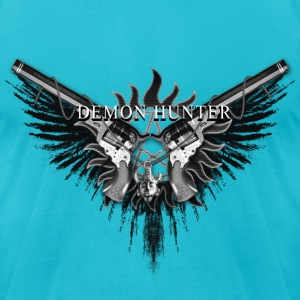 Demon Hunter 2QB T-Shirts - Men's T-Shirt by American Apparel