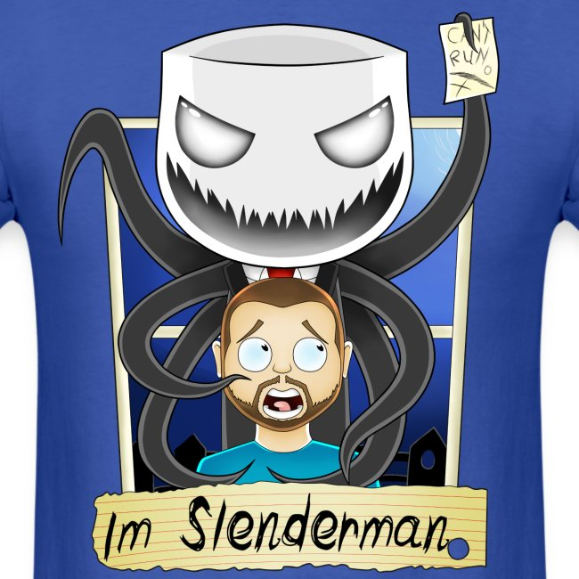 Chilled is Slenderman (Light T-Shirt)