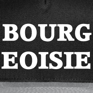 Bourgeoisie - Snap-back Baseball Cap