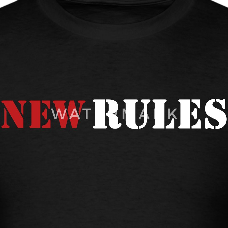New Rules  T-Shirts - Men's T-Shirt