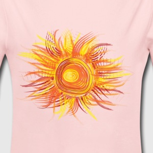 Abstract Sun - Long Sleeve Baby Bodysuit