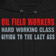Design ~ Hard Working Class - Hoodie