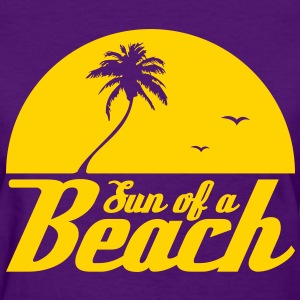 Sun of a Beach (purple/Women's) - Women's T-Shirt