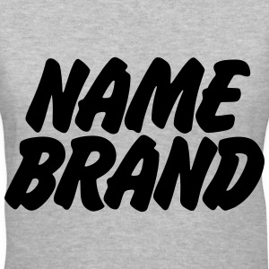 Name Brand Women's T-Shirts - Women's V-Neck T-Shirt