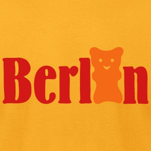 Gummi Bear Berlin (2c) T-Shirts - Men's T-Shirt by American Apparel