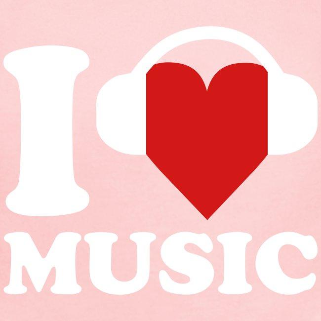 I Love Music Onsie