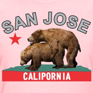 san_jose_blacksilver Women's T-Shirts - Women's T-Shirt