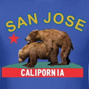 san_jose_bluegold T-Shirts - Men's T-Shirt