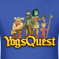 Design ~ Mens Tee: YogsQuest Adventurers