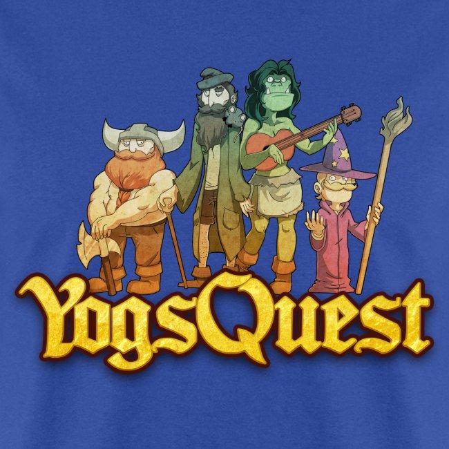 Mens Tee: YogsQuest Adventurers