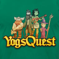 Design ~ Superior Mens Tee: YogsQuest Adventurers