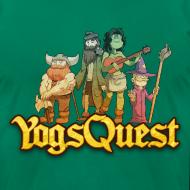 Design ~ Superior Mens Tee: YogsQuest Adventurers