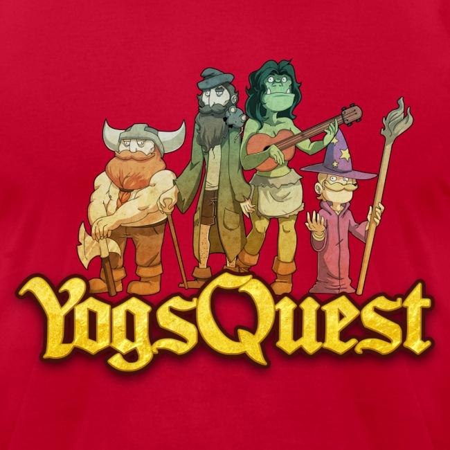 Superior Mens Tee: YogsQuest Adventurers