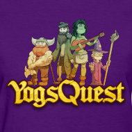 Design ~ Ladies Tee: YogsQuest Adventurers