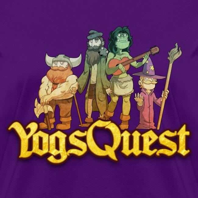 Ladies Tee: YogsQuest Adventurers
