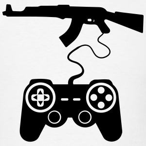 Pro Gamer AK47 Gaming Controller 1c T-Shirts - Men's T-Shirt