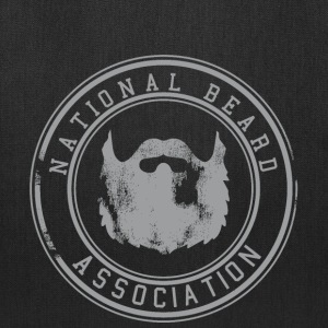 National Beard Association Grunge Mustache 1c Bags & backpacks - Tote Bag
