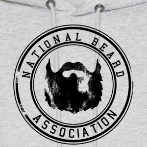 National Beard Association Grunge Mustache 1c Hoodies - Men's Hoodie