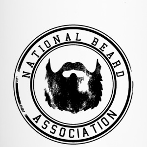National Beard Association Grunge Mustache 1c Bottles & Mugs - Travel Mug