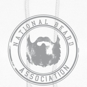 National Beard Association Grunge Mustache 1c Hoodies - Women's Hoodie