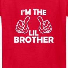 i'm the lil brother  Kids' Shirts