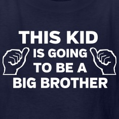 This kid is going to be a big brother Kids' Shirts