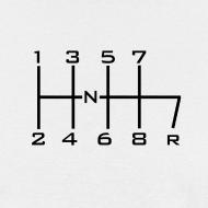 Design ~ 8-SPEED STICK WHITE