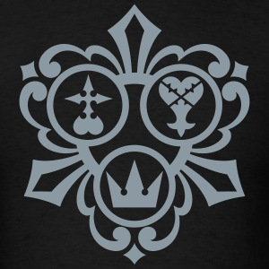 Kingdom Hearts (Metallic Silver) Men's Standard We - Men's T-Shirt