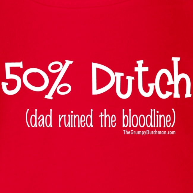 Bloodline - Dad (with white lettering for darker shirts)