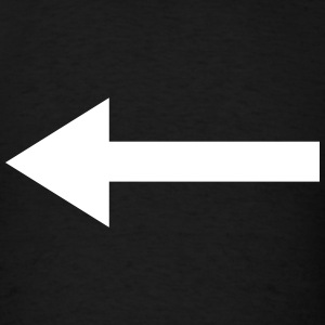 Left Arrow T-Shirts - Men's T-Shirt