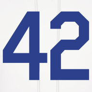 Design ~ Jackie Robinson 42 Hoodie Hooded Sweatshirt
