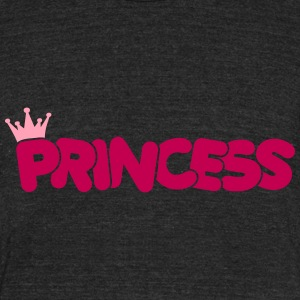 princess T-Shirts - Unisex Tri-Blend T-Shirt by American Apparel