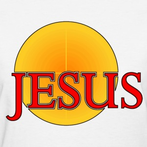 Jesus...Light of the World  Women's T-Shirts - Women's T-Shirt