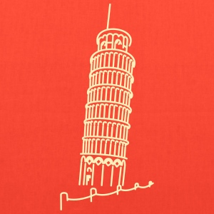Leaning Tower of Pisa (1c) Bags & backpacks - Tote Bag