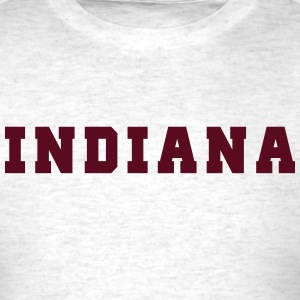 Indiana College T-Shirts - Men's T-Shirt