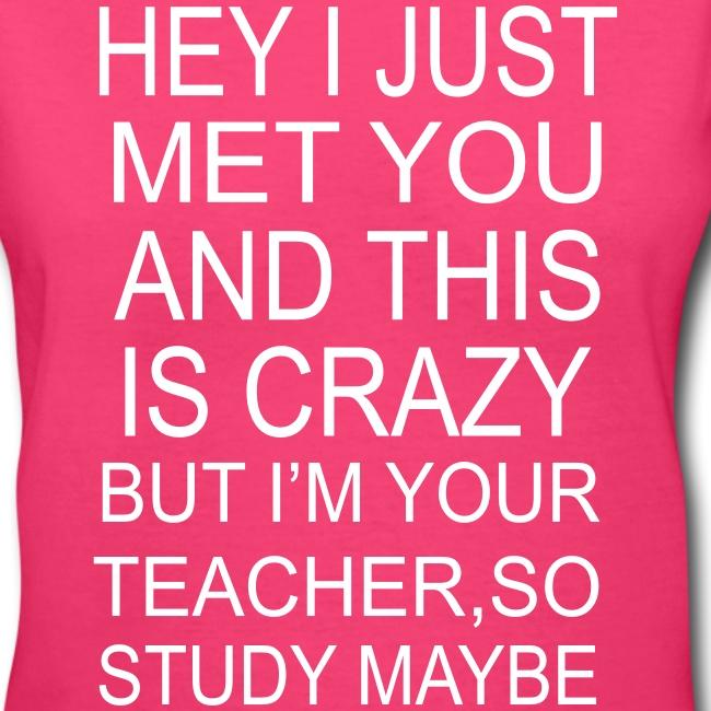 Study Maybe V Neck